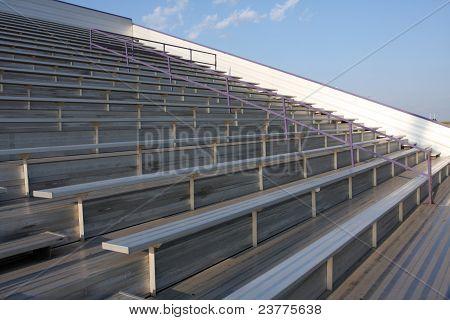 Football Field Bleachers