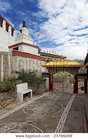 Gate Way Of Thiksey Gompa