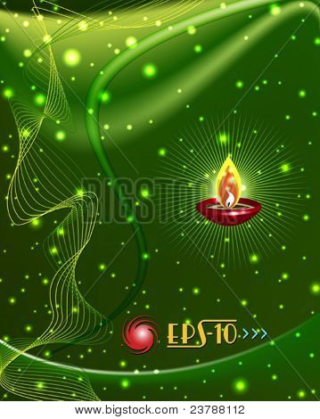eps10 diwali saudação