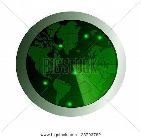 Radar-Überwachung