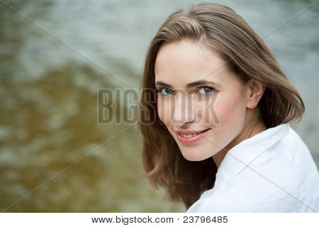 Portrait Of A Beautiful Woman