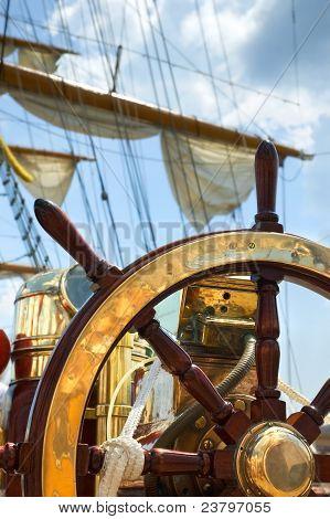 Old Ship Wheel