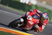 VALENCIA, SPAIN - NOVEMBER 6: MotoGP  Comunitat Valenciana - Nicky Hayden - on November 6, 2009 in V