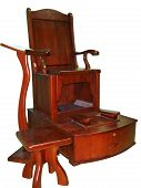 Wooden Shoeshine Chair poster