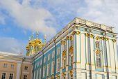 pic of tsarskoe  - Catherine Palace in Tsarskoe Selo St Petersburg Russia - JPG
