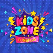 Super Banner For Kids Zone. poster