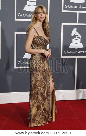 LOS ANGELES, CA - JAN 31: Manda Mosher at the 52nd Annual GRAMMY Awards held at the Nokia Theater on January 31, 2010 in Los Angeles, California