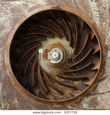 Metal Old Turbine