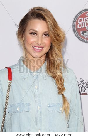 LOS ANGELES - MAY 30:  Whitney Port arrives at the Vans Custom Culture Final Event 2012 at Long Beach Museum of Art on May 30, 2012 in Long Beach, CA