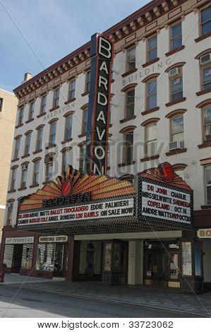Bardavon Theater, Pougheepsie NY