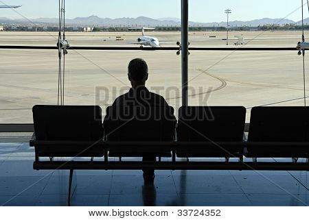 waiting/airport