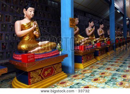 Burmese Buddha Statue
