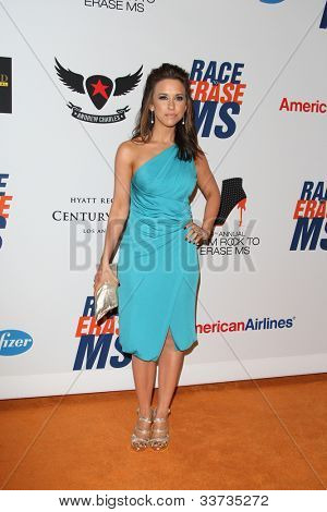 LOS ANGELES - MAY 18: Lacey Chabert at the 19th Annual Race to Erase MS gala held at the Hyatt Regency Century Plaza on May 18, 2012 in Century City, California