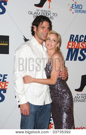 LOS ANGELES - MAY 18: Camille Grammer, Dimitri Charalambopoulos at the 19th Annual Race to Erase MS gala held at the Hyatt Regency Century Plaza on May 18, 2012 in Century City, California
