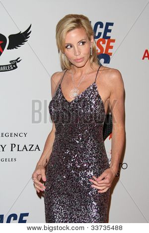 LOS ANGELES - MAY 18: Camille Grammer at the 19th Annual Race to Erase MS gala held at the Hyatt Regency Century Plaza on May 18, 2012 in Century City, California