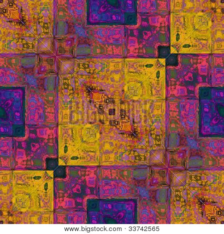 art colorful ornamental vintage pattern