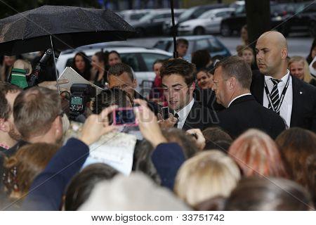 BERLIN - MAY 31: Robert Pattinson at the premiere of 'Cosmopolis' on May 31, 2012 in Berlin, Germany