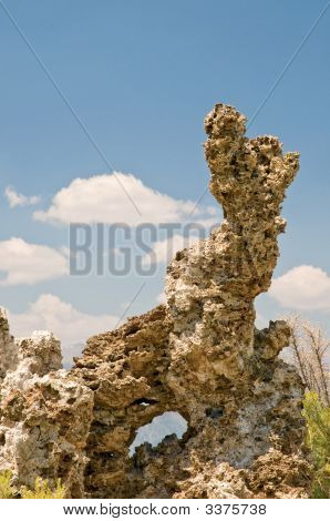 Tufa Rock Formation
