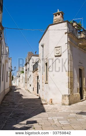 Alleyway. Sternatia. Puglia. Italy.