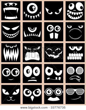 Avatars - Black