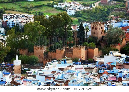 Chefchaouen vieja Medina, Marruecos, África