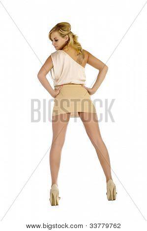 Blonde Backside