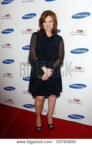 NEW YORK-JUNE 4: TV personality Caroline Manzo attends Samsung's Annual Hope for Children gala at the American Museum of Natural History on June 4, 2012 in New York City.