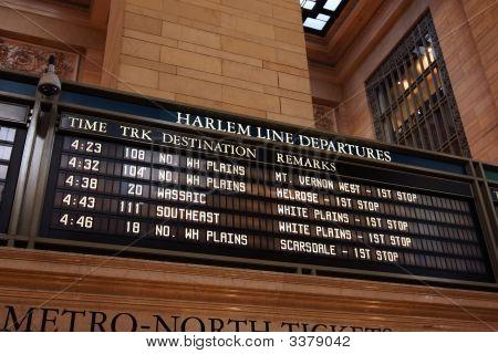 Train Timetable