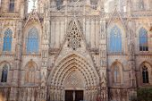 Cathedral of Barcelona Seu Seo gothic architecture in spain catalonia