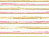 Stripes Geometric Textile Seamless Vector Pattern. Decorative Retro Chevron. Geometric Casual Print  poster