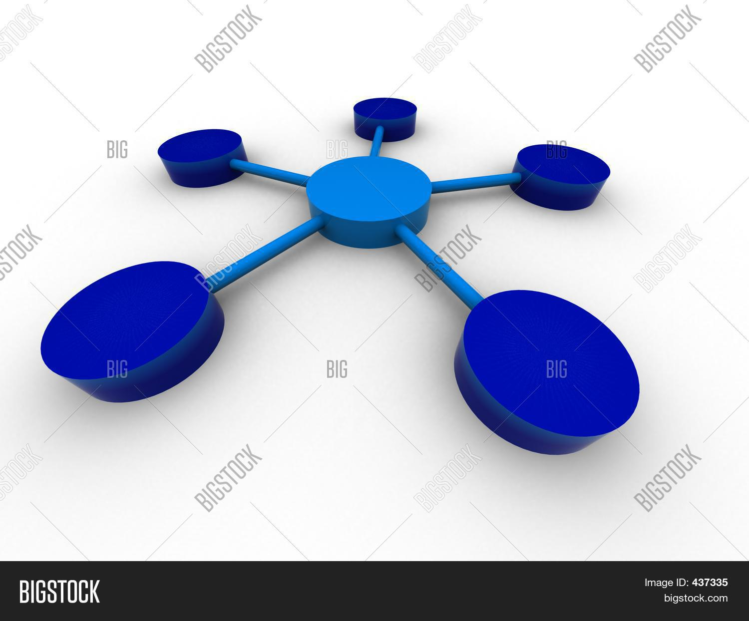 3d Organization Chart Stock Photo & Stock Images | Bigstock