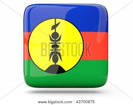 Square Icon Of New Caledonia