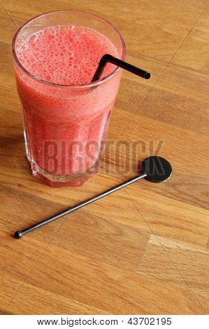 Strawberry-Banana Milkshake