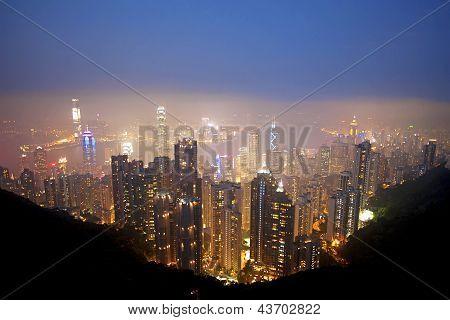 Honk Kong Skyline