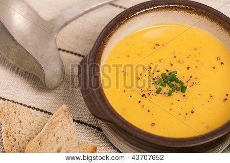 Vegan Carrot And Potato Soup