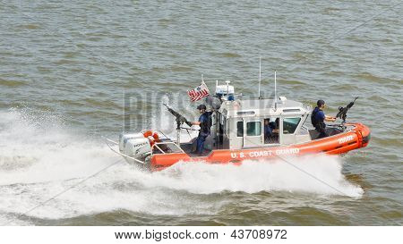 United States Coast Guard Patrol Boat