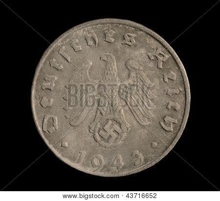 Five Reichspfennig Coin