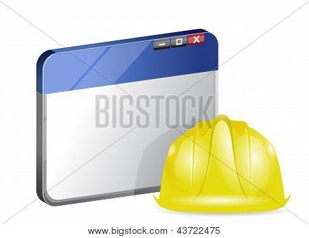 Online Browser Under Construction