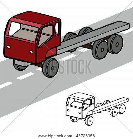 Truck 3D.eps