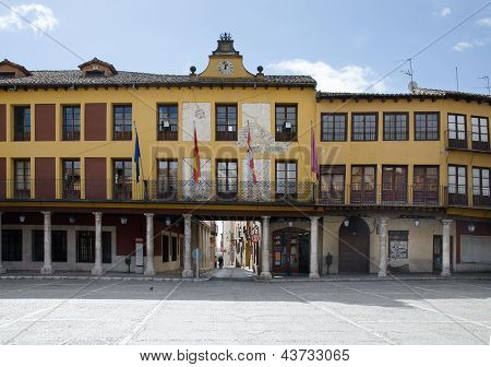 Plaza Mayor, Tordesillas