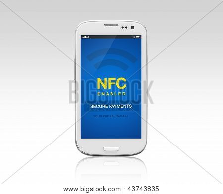 Nfc Enabled Mobile Phone