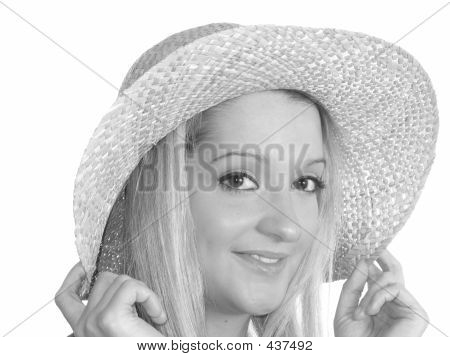 Woman Straw Hat