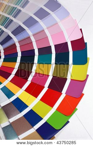 Detail Of Ral Color Chart