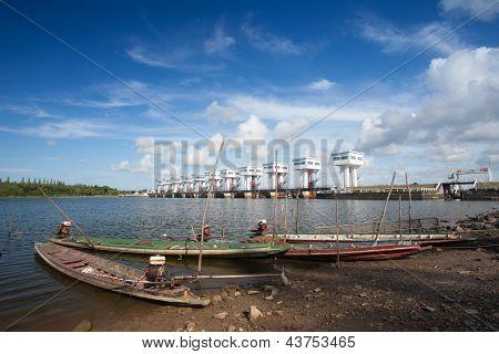 Barco de pesca pequeñas