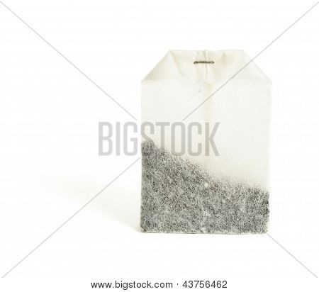 Tea bag isolated