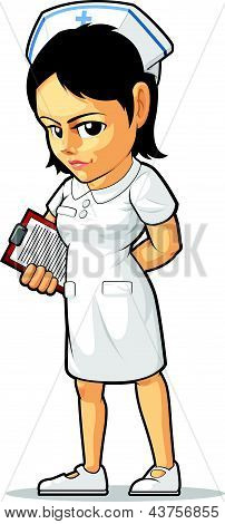 Cartoon Of Nurse