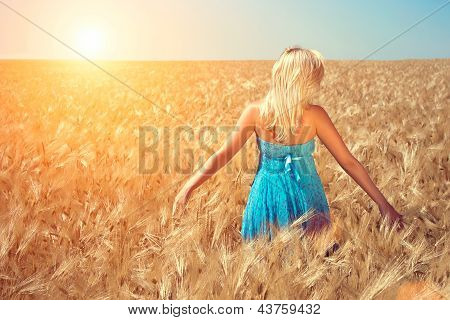 The Girl In The Field