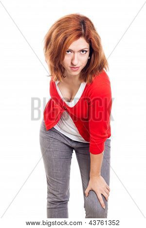 Woman Seducing Look