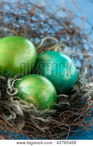 Easter Colorful Eggs