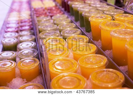 Juice In A Line